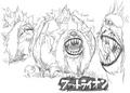 Fat Lion Concept Art