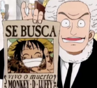 Luffy's Wanted Poster with Spanish Text