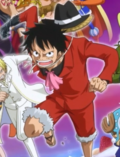 Luffy Second Totto Land Outfit