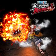 One Piece Burning Blood Monkey D