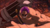 Zephyr vs. Luffy Fight 3