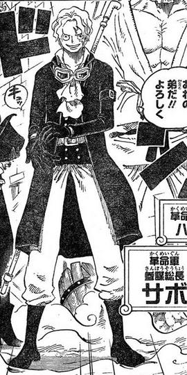 Sabo Manga Infobox