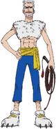 Mohji Anime Concept Art