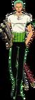 Penampilan Umum Zoro