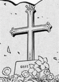 Vinsmoke Sora Grave in the Manga