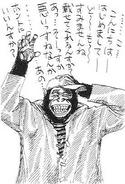 Eiichiro Oda Caricature (1993)