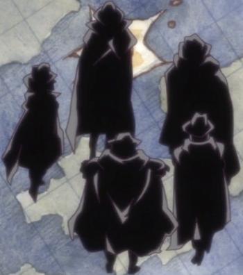 Cinco Grandes Famílias
