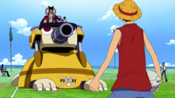 Luffy vs Foxy Round One