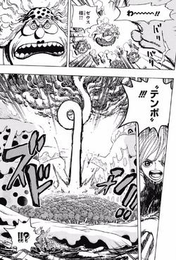 Nami utiliza a Zeus para atacar a Big Mom