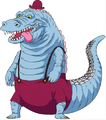 Concept Art Noble Croco Anime