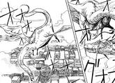 Dragón de MONSTERS