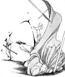 Ryuma kills Cyrano