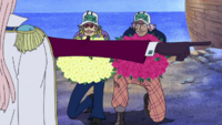 Jango and Fullbody Offer Flowers to Hina