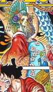 Komurasaki Manga Color Scheme