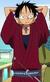 Luffy en el episodio especial histórico