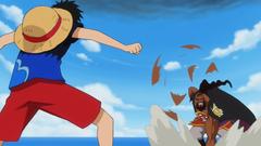 Luffy y Shuzo
