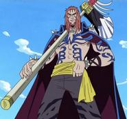 Wetton as a Pirate