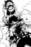 Ace's Bloody Death in the Manga