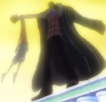 Arco Alabsta, Crocodile derrota Luffy pela segunda vez