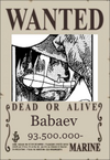 Babaev Wanted Poster