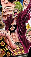 Bartolomeo's Manga Color Scheme 2