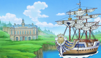 Donquixote Family's Ship