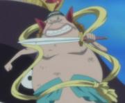 Manboshi y su espada