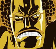 Sengoku's Buddha Face