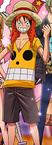 Luffy Tampilan Movie 12 Pertama