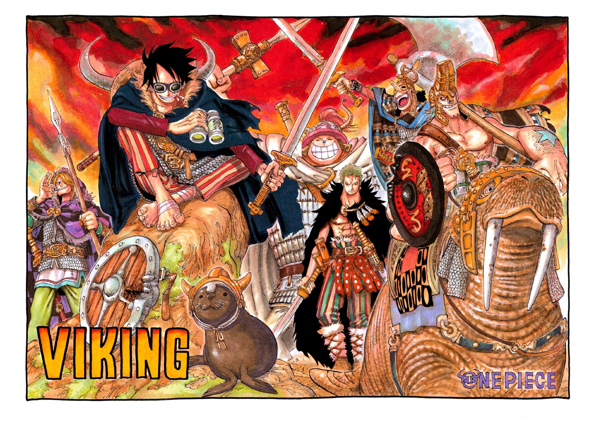 Resultado de imagen para one piece manga color