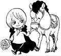 Cavendish e Farul quando crianças