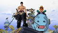 Crazy Rainbow Star - Luffy, Zoro et Usopp