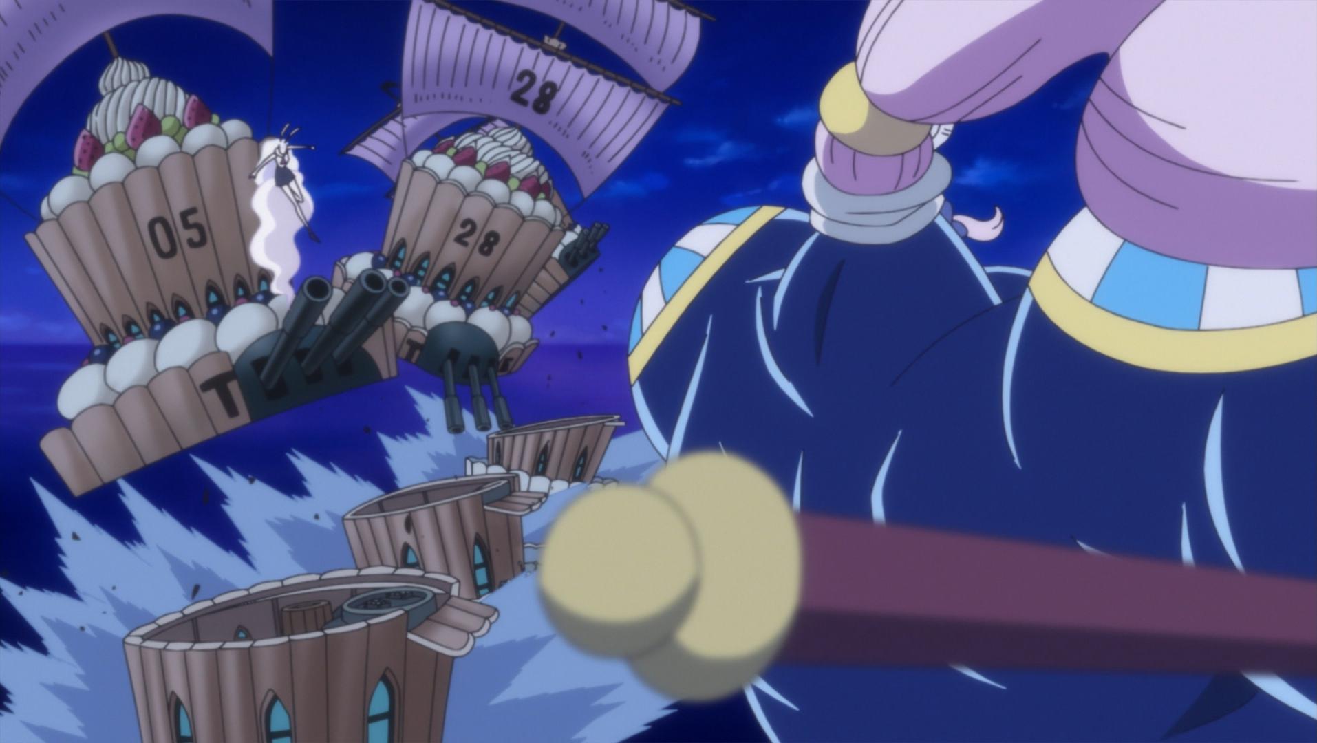 Image - Daifuku Attacks Carrot.png | One Piece Wiki ...