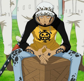 Trafalgar D. Water Law Anime Pra Timeskip Infobox