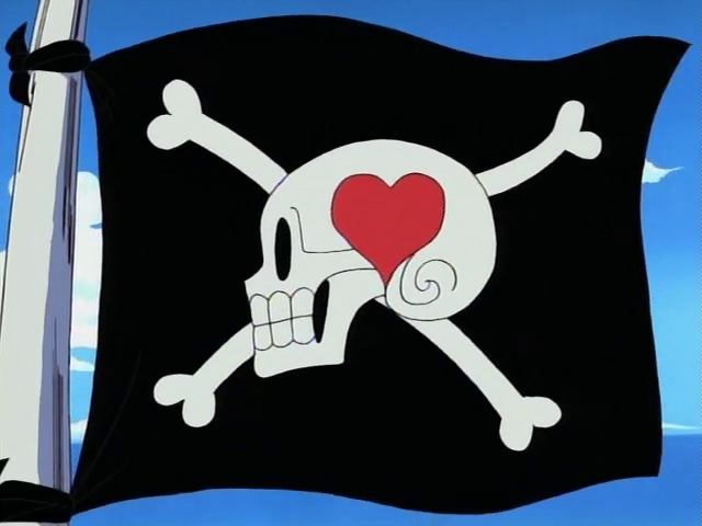 Alvida Pirates' Jolly Roger