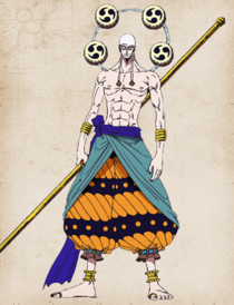Enel Anime Full Body
