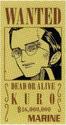 Kuro Avis de Recherche Vivre Card