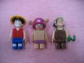 One Piece Mega Bloks Vogue Merry Luffy Chopper Usopp