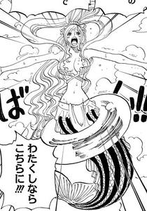 Shirahoshi Pleads with Decken
