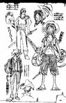 Straw Hat Pirates' Outfits1