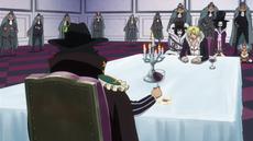 Bege negocia con Sanji