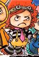 Chao Coloré dans le Manga