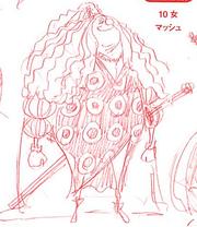 Charlotte Mash Manga Concept Art