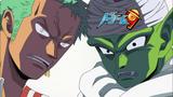 Eyecatcher de Zoro y Piccolo