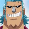Franky Pre Timeskip Anime Portrait