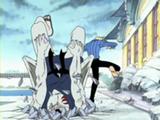 Kuroobi battu par Sanji Anime