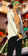 Zoro Movie 6 Second Outfit