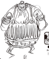 Charlotte Cabalette Manga Concept Art