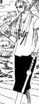 Tenue de Koza dans la mini aventure de Gedatsu