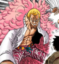 Coloreado digital de Doflamingo